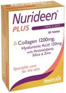 НУРИДИЙН ПЛЮС - подобрява състоянието на косата, кожата и ноктите - 60 таблетки