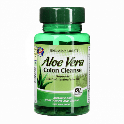 АЛОЕ ВЕРА КОЛОН КЛИЙН таблетки * 60 HOLLAND & BARRETT