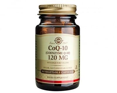 КОЕНЗИМ Q10 120 мг. за доброто енергийно състояние на клетките * 30капс., СОЛГАР