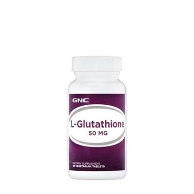 L - ГЛУТАТИОН 50 мг.- защитата на клетките от оксидативен стрес * 50таблетки, GNC