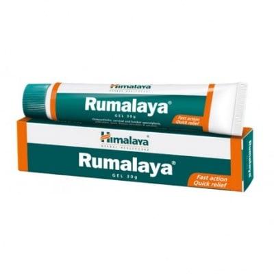РУМАЛАЯ гел - придава усещане за лекота в коленете, кръста, раменете, врата и мускулите 30 гр., THE HIMALAYA DRUG CO