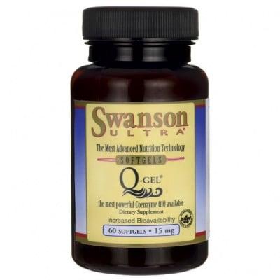КОЕНЗИМ Q10-GEL 15 мг. - функциите на кръвоносната система * 60капсули, СУОНСЪН