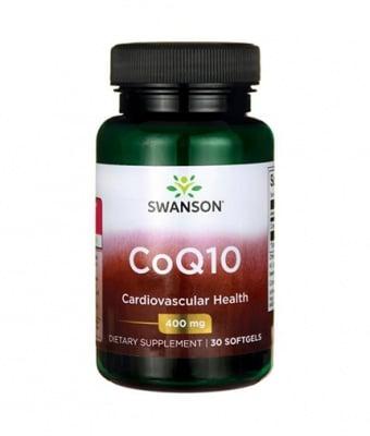 КОЕНЗИМ Q10 400 мг. увеличава броя на антиоксидантните ензими в тялото * 30капсули, СУОНСЪН