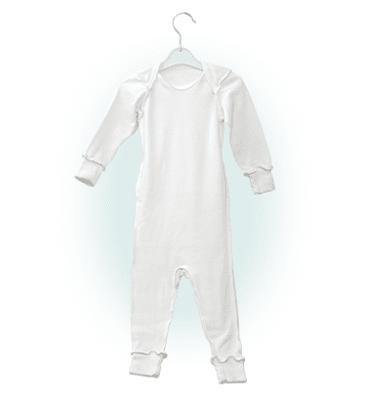 Успокояваща пижамка за бебета 100% памучни нишки 12-24 месеца, МУСТЕЛА