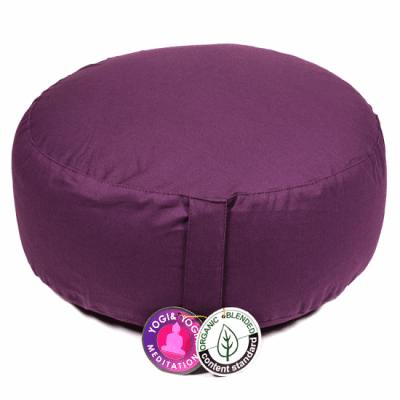 Възглавница за медитация от био памук, 33х17 см.