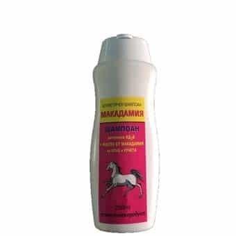 ШАМПОАН АД3Е с масло от Макадамия - хидратира и тонизира изтощената коса, 250 мл.