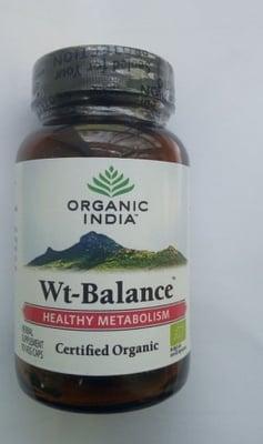 БАЛАНС НА ТЕГЛОТО - поддържане на оптимално тегло капсули 325 мг. х 90, ORGANIC INDIA