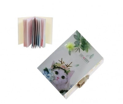 Таен дневник с катинар с шифър, 72 листа