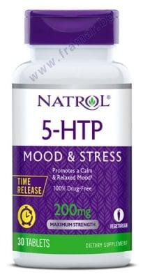 НАТРОЛ 5 - ХИДРОКСИТРИПТОФАН (5 - HTP) ТАЙМ РИЛИЙЗ таблетки 200 мг * 30