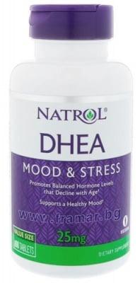 НАТРОЛ DHEA (дехидроепиандростерон) таблетки 25 мг * 180