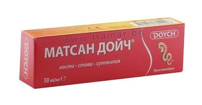 МАТСАН ДОЙЧ крем 30 мл. ЧЕРВЕН АНТИРЕВМАТИЧЕН
