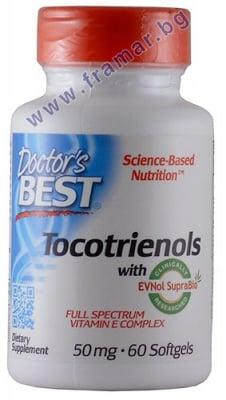 ДОКТОР'С БЕСТ ТОКОТРИЕНОЛИ С ТОКОМИН капсули 50 мг. * 60