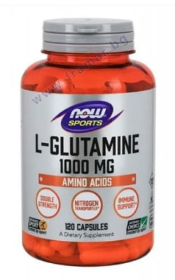 L - ГЛУТАМИН 1000 мг * 120 капсули