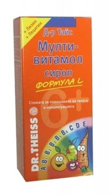 МУЛТИВИТАМОЛ 6+ сироп 200 мл.