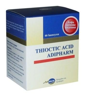 АЛФА ЛИПОЕВА КИСЕЛИНА   капс. 300 мг. * 60 ADIFARM