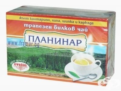 ЧАЙ ФИЛТЪР ПЛАНИНАР * 20 ЕВЕЛИН 29