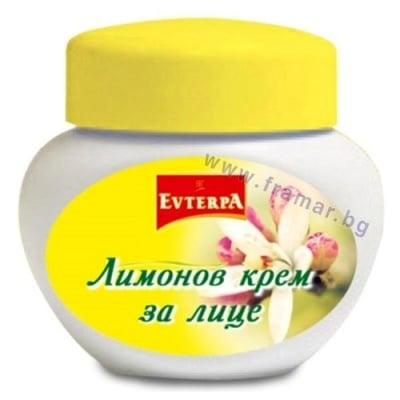 ЕВТЕРПА КРЕМ ЗА ЛИЦЕ ЛИМОН 60 мл.