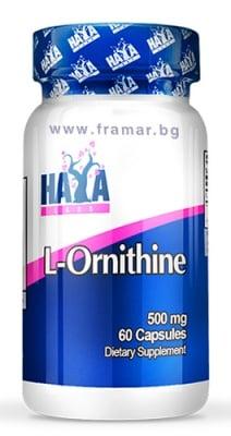L-ОРНИТИН 500 мг * 60 капсули