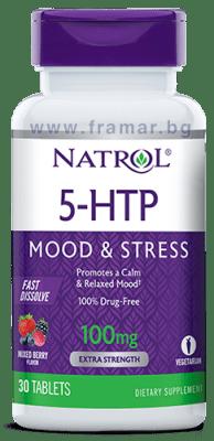 НАТРОЛ 5 - ХИДРОКСИТРИПТОФАН ФАСТ табл. 100 мг. * 30
