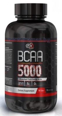 ПЮР НУТРИШЪН BCAA 5000 таблетки * 75