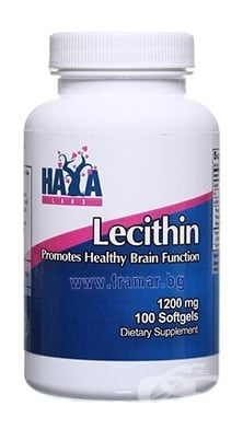 ХАЯ ЛАБС ЛЕЦИТИН капс. 1200 мг. * 100