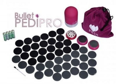 PEDI BULLET PRO - Система за епилация и педикюр в домашни условия, ТЕЛЕСТАР