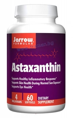 ДЖАРОУ ФОРМУЛАС АСТАКСАНТИН капсули 4 мг. * 60