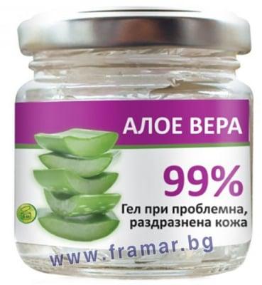 РАДИКА / АУРА 99% ГЕЛ ОТ АЛОЕ ВЕРА 100 мл.