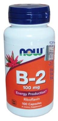 НАУ ФУДС ВИТАМИН Б 2 РИБОФЛАВИН капс. 100 мг. * 100