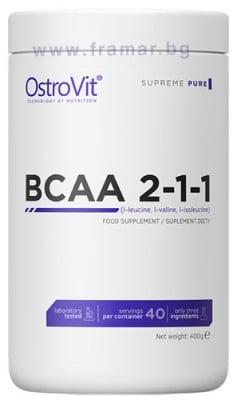 BCAA 2:1:1 прах 400 гр.