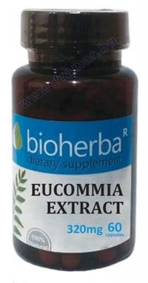 БИОХЕРБА ЕУКОМИЯ капсули 320 мг * 60