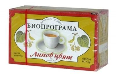 ЧАЙ ФИЛТЪР ЛИПОВ ЦВЯТ * 20