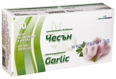 ЧЕСЪН капсули 250 мг. * 60 ФИТОФАРМА