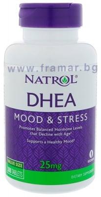 НАТРОЛ DHEA (дехидроепиандростерон) таблетки 25 мг * 300