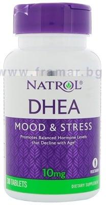 НАТРОЛ DHEA (дехидроепиандростерон) таблетки 10 мг * 30