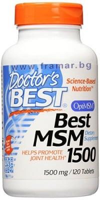 ДОКТОР'С БЕСТ МСМ таблетки 1500 мг. * 120
