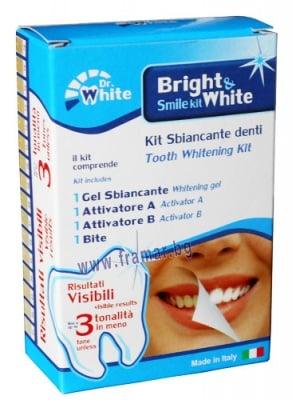 BRIGHT AND WHITE - Комплект за избелване на зъби, ТЕЛЕСТАР