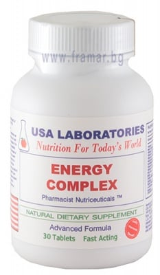 ЕНЕРГИЕН КОМПЛЕКС таблетки * 30 USA LABORATORIES