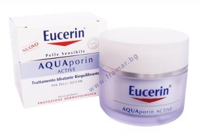 AQUA дневен крем за лице за суха кожа 50 мл
