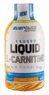 ТЕЧЕН L - КАРНИТИН 3000 мг + ХРОМ + ВИТАМИН Б КОМПЛЕКС + ЗЕЛЕН ЧАЙ с вкус на портокал 500 мл