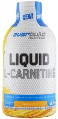 L - КАРНИТИН ТЕЧЕН 1500 мг + ХРОМ + ВИТАМИН Б КОМПЛЕКС с вкус на манго 450 мл