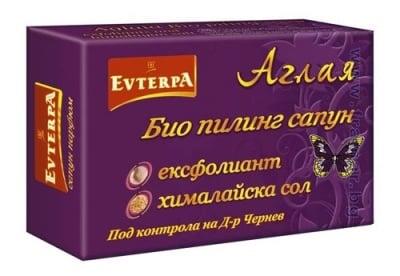 ЕВТЕРПА БИО ПИЛИНГ САПУН АГЛАЯ 75 гр.
