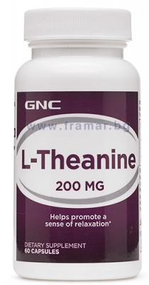 L - ТЕАНИН капс. 200 мг. * 60 GNC