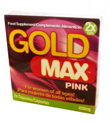 ГОЛД МАКС ПИНК - увеличава сексуалното желание при жените - капсули * 2