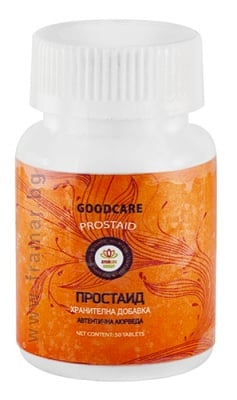 ПРОСТАИД - при проблеми с простата - капсули х 50, GOODCARE PHARMA