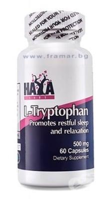 ХАЯ ЛАБС L - ТРИПТОФАН капсули 500 мг. * 60