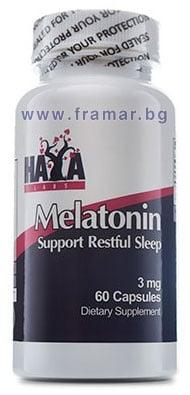 ХАЯ ЛАБС МЕЛАТОНИН капс. 3 мг. * 60