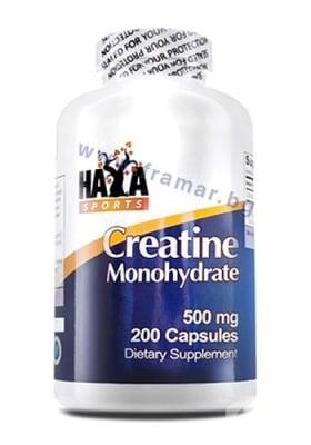 ХАЯ ЛАБС СПОРТС КРЕАТИН МОНОХИДРАТ капс. 500 мг. * 200