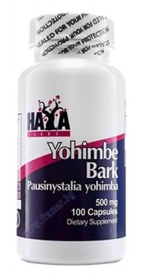 ХАЯ ЛАБС ЙОХИМБЕ капс. 500 мг. * 100
