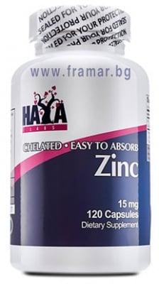 ХАЯ ЛАБС ЦИНК капс. 15 мг. * 120